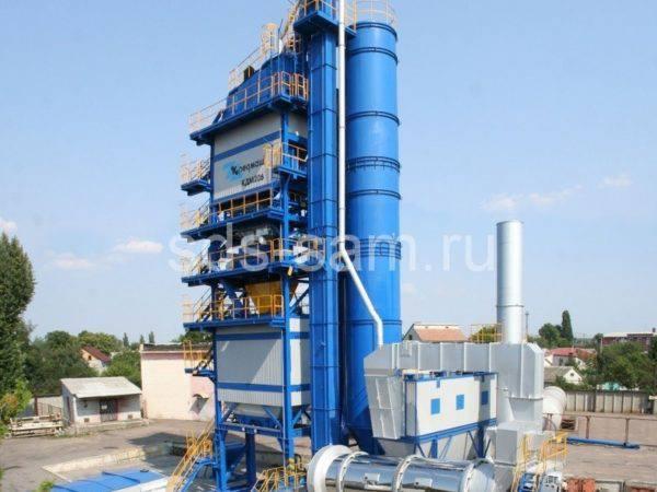 Асфальтобетонный завод КДМ 205 Кредмаш